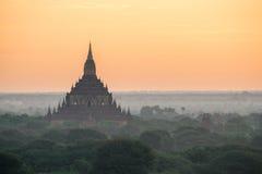 bagan tempel Royaltyfri Fotografi