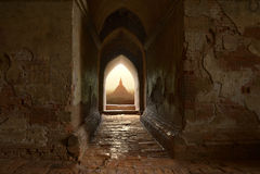 Bagan Tempel Stockfoto