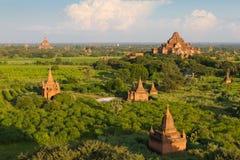 Bagan tempel, Burma Royaltyfria Bilder