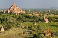 bagan tempel för burma dhammayangyimyanmar pahto Arkivfoto