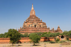 bagan tempel för burma myanmar pahtosulamani Royaltyfria Bilder