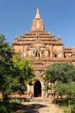 bagan tempel för burma myanmar pahtosulamani Royaltyfri Foto
