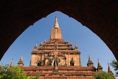 bagan tempel för burma myanmar pahtosulamani Royaltyfria Foton