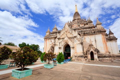 bagan tempel för dawgawmyanmar palin Arkivfoton
