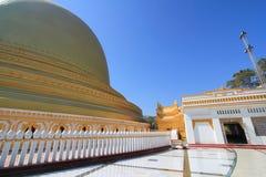 Bagan tempel i Myanmar Royaltyfria Bilder