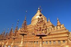 Bagan tempel i Myanmar Arkivfoton