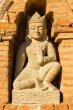 Bagan tempel, Myanmar Royaltyfria Bilder