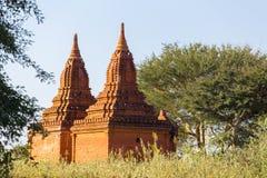 Bagan tempel, Myanmar Royaltyfria Foton
