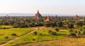 Bagan tempel, Myanmar Royaltyfri Foto