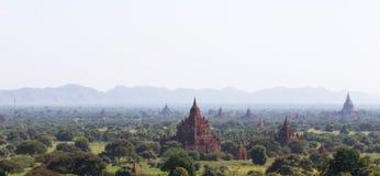 Bagan tempel, Myanmar Fotografering för Bildbyråer