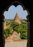 Bagan-Tempel, Myanmar Lizenzfreies Stockbild