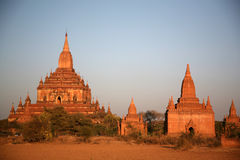 Bagan temple. A bagan temple named htilominlo Royalty Free Stock Photography