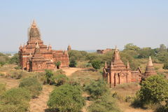 Bagan temple in Myanmar Stock Image