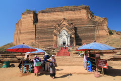 Bagan temple in Myanmar Royalty Free Stock Photos