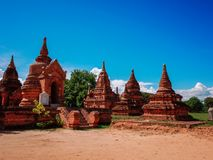 Bagan, Myanmar. royalty free stock photos
