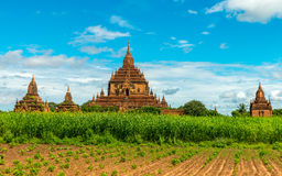 Bagan temples, Myanmar Stock Photos
