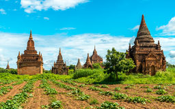Bagan temples, Myanmar Royalty Free Stock Images