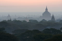 Bagan temples in Myanmar (Burma) Royalty Free Stock Images