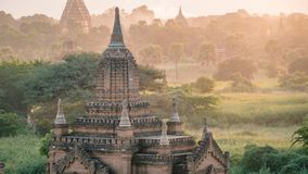 Bagan Temples and Religious sites Burma Myanmar. Buddhist temples and artifacts from this ancient city Royalty Free Stock Images