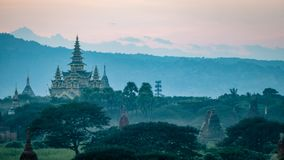 Bagan Temples and Religious sites Burma Myanmar Royalty Free Stock Image