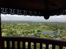 Bagan Tower (Nan Myint) Royalty Free Stock Photo