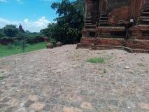 Bagan trzęsienie ziemi 2016 Zdjęcia Royalty Free