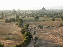 Bagan valley Stock Photography