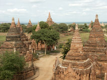 Bagan valley Royalty Free Stock Photos
