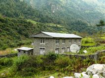 Bagarchhap village - Nepal Royalty Free Stock Images