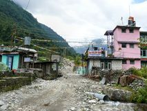 Bagarchhap village - Nepal Royalty Free Stock Photos