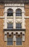 Bagarehotell - fönsterdetalj arkivbild