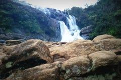 Bagarenedgång (den Gonagala nedgången) Sri Lanka Arkivfoton