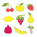 Bagas e frutos Foto de Stock Royalty Free