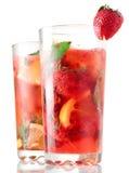 Bagas Mojito com bebida da energia imagens de stock royalty free