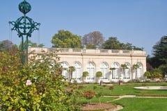 Bagatela do parque no Bois de Boulogne em Paris Foto de Stock Royalty Free