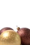 Bagattelle di Natale Fotografia Stock