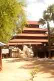 Bagaya kloster Arkivbild