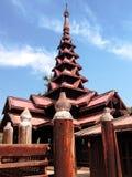 Bagaya Kyaung修道院 库存图片
