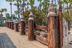 Bagaya Kyaung, Birma royalty-vrije stock afbeelding