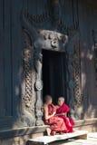 Bagaya Kyaung kloster Royaltyfri Bild