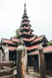 Bagaya Kyaung monastery, ancient city Inwa (Ava) Mandalay, Myanmar Royalty Free Stock Images