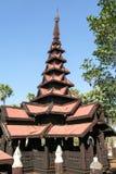 Bagaya Kyaung monastery, built of teak in 1838, ancient city Inw Royalty Free Stock Photos