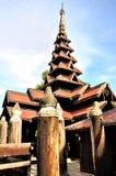 Bagaya Monastery, Inwa Royalty Free Stock Photography