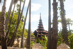 Bagaya Monastery in Myanmar. Stock Photography