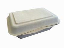 Bagazo de la caja del arroz fotos de archivo