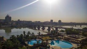Bagdad ad alba Immagini Stock Libere da Diritti