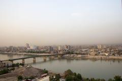 Bagdad bij Nacht royalty-vrije stock afbeeldingen
