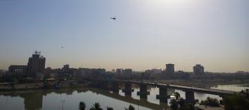 Bagdad en la salida del sol Fotos de archivo