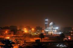 Bagdade em Noite imagem de stock