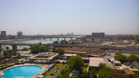 Bagdade no nascer do sol foto de stock